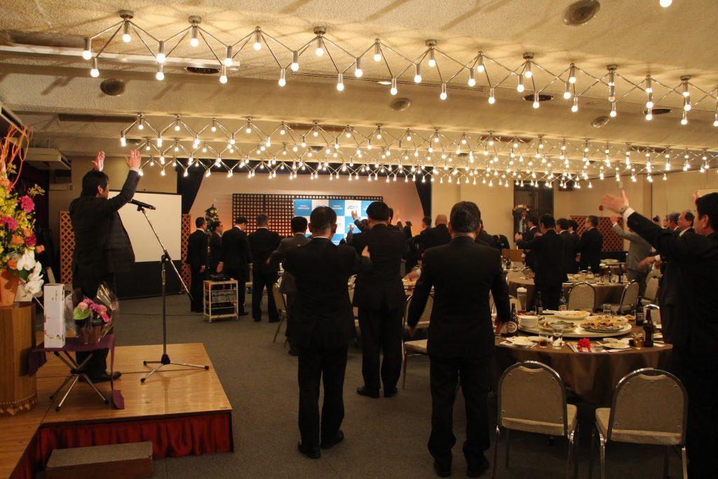 12月例会事業報告 卒業式、年忘れの宴