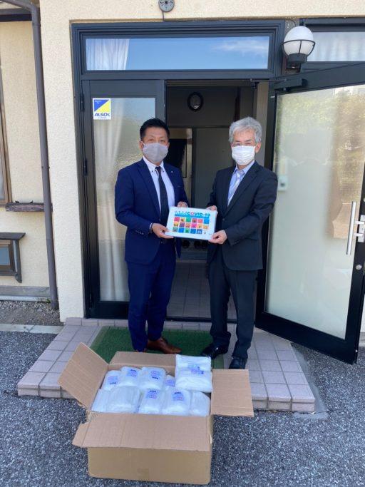 医療機関への10,000枚マスク寄付(小県医師会、上田市医師会)